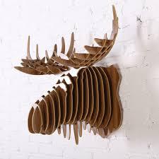 deer wood wall 2016 new 3d wood wall deer stag moose elk reindeer