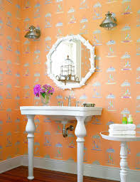 Wallpaper For Bathrooms Ideas Colors 49 Best Bathrooms Deserve Design Too Images On Pinterest