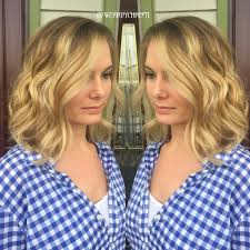 long bob lob haircuts golden blonde balayage ombre short