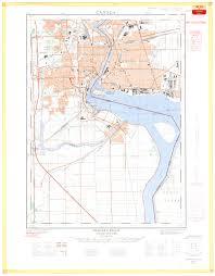 Niagra Falls Map Niagara Falls Ontario 1 25 000 Map Sheet 030m03a Ed 2 1963