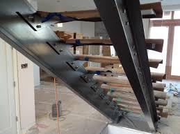 steel stair stringers residential durability steel stair
