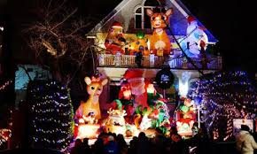 dyker heights christmas lights tour 2017 christmas lights and decorations put up in brooklyn new york