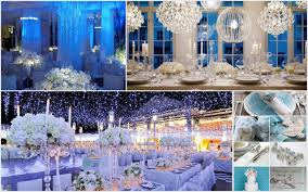 interior design winter wonderland themed party decoration ideas