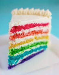 rainbow surprise cake speedbump kitchen
