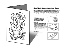 printable get well cards to color free download