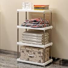 diy free combination shelf plastic floor living room kitchen