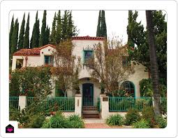 spanish colonial revival home plans