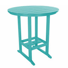 Teal Dining Table Shop Durawood Bar Height Dining Tables On Sale