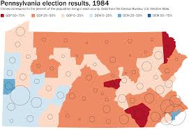 1996 Presidential Election Map by How Pennsylvania U0027turning Red U0027 Helps Explain Modern Presidential