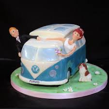 wedding cake edinburgh kombi wedding cake vw kombi cer wedding cakes