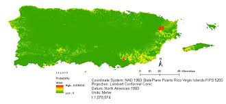 Map Of Puerto Rico Where And How Well Mongooses Are Doing In Puerto Rico A Study Of