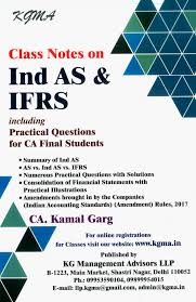 notes ind u0026 ifrs including practical question kamal garg
