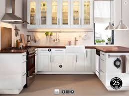 Ikea Unfinished Kitchen Cabinets Birch Wood Espresso Glass Panel Door Ikea Kitchen Cabinets Review