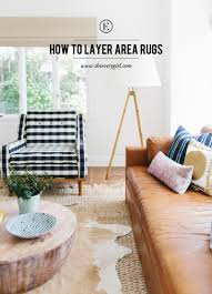 Interior Rugs How To Perfect The Layered Rug Look The Everygirl