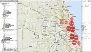 Crime Spot Map Analysis Of Chicago City Crime Data Using Data Mining Cs 5593 Ou