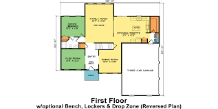 floor plan of an office manhattan fine line homes