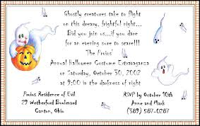 halloween party invitation ideas template best template collection