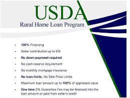 Usda Rual Development Rural Property Loans Installment Loans In Texas