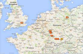 Map Of Frankfurt Germany by 2014 Euro Trip Map Project Rich