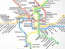 Wmata Map Metro by Thrillist Just Created The Most Accurate D C Metro Map Ever