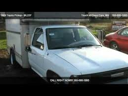 toyota uhaul truck for sale 1989 toyota gl cargo cube for sale in battle ground