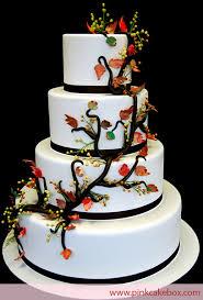 wedding cake photos fall themed wedding cakes pink cake box custom cakes more