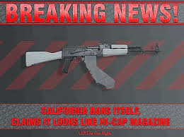 California Meme - meme breaking news from california about magazine capacity limits