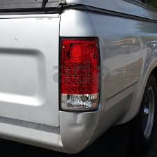 1990 toyota pickup tail light lens 1989 1995 toyota hilux pickup sr5 red lens led tail lights rear