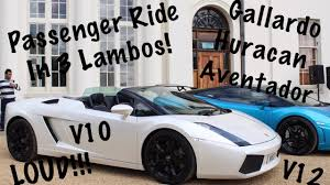 Lamborghini Gallardo Huracan - lambo ride x3 gallardo huracan u0026 aventador supercar saturday
