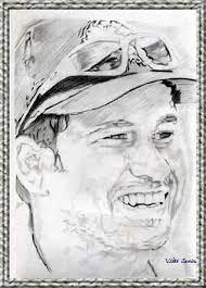 sachin tendulkar portrait sketch