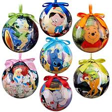 world of disney classics ornament set 7 pc new in box