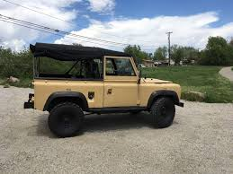 land rover defender convertible for sale soft top 1986 land rover defender offroad for sale