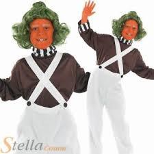 Oompa Loompa Halloween Costumes Adults Boys Factory Worker Oompa Loompa Umpa Lumpa Halloween Child Fancy