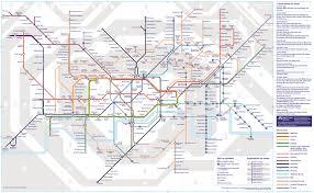 underground map zones new map marks launch of tfl rail
