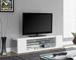 amazon com monarch specialties high glossy black tv console with