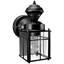 motion sensor outdoor light fixtures lamps plus