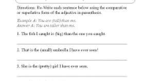 worksheets adjectives grade 5 worksheets aquatechnics biz