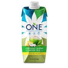 amazon com o n e coconut water tropical colada with tea 16 9