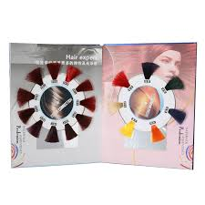 new design ice cream hair color chart silky hair color mixing