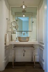 white lotion powder room mediterranean with countertop