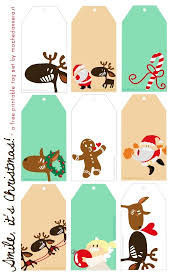 printable gingerbread man gift tags 47 free printable christmas gift tags that you can edit and