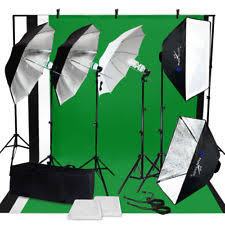 Photography Lighting Kit Photo Studio Photography Continuous Lighting Kit Muslin