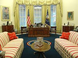 oval office decor trump official praises oval office makeover blames obama for