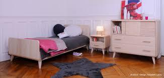 chambre enfants design mobilier enfant et bébé en bois massif par zinezoé