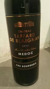 chateau blaignan medoc prices wine 2015 château taffard de blaignan bordeaux médoc