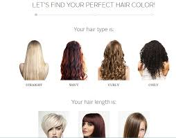 Types Of Hair Colour by Musely