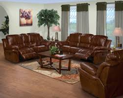 Power Sofa Recliners Leather by 2 Pc Brown Leather Match Cabo Standard Motion Reclining Sofa And