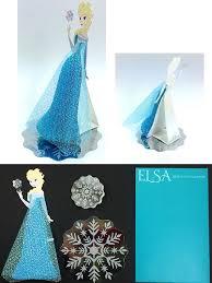 disney frozen queen elsa honeycomb pop up greeting card premium