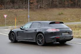 first porsche car porsche panamera shooting brake first spy photos show