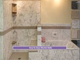 how to clean marble walls and tiles youtube